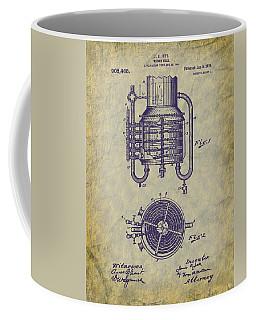 1909 Jett Whiskey Still Patent Coffee Mug