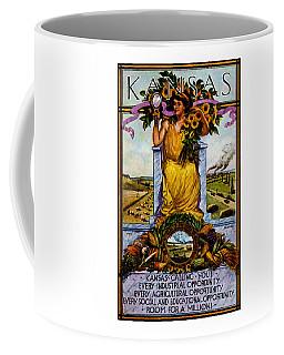 1911 Kansas Poster Coffee Mug