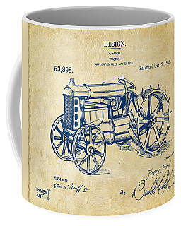 1919 Henry Ford Tractor Patent Vintage Coffee Mug