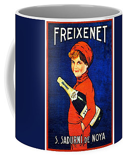 1920 - Freixenet Wines - Advertisement Poster - Color Coffee Mug
