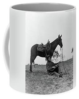 1920s 1930s Cowboy Sitting Coffee Mug