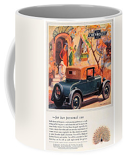 1927 - Chevrolet Advertisement - Color Coffee Mug