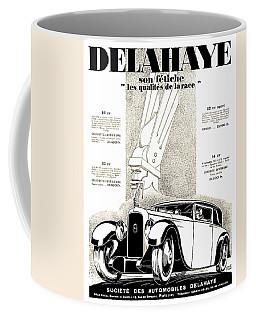 1928 - Delehaye Automobile Advertisement Coffee Mug