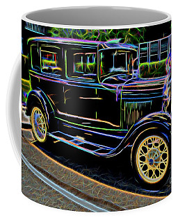 1929 Ford Model A - Antique Car Coffee Mug
