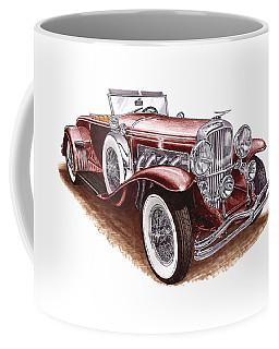 Dusenberg Model J Coffee Mug by Jack Pumphrey