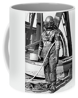 1930s 1940s Full Figure Of Man Coffee Mug