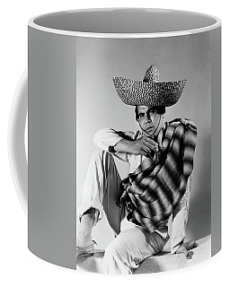 1930s 1940s Stereotype Portrait Mexican Coffee Mug