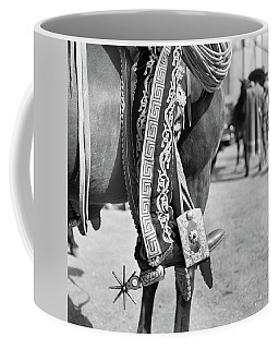 1930s Detail Of Traditional Charro Coffee Mug