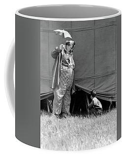 1930s Man Clown Catching Little Boy Coffee Mug