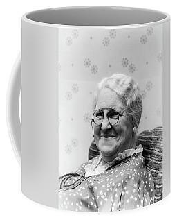 1930s Portrait Of Elderly White Hair Coffee Mug