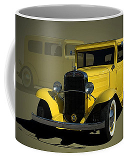 1931 Chevrolet Sedan Hot Rod Coffee Mug