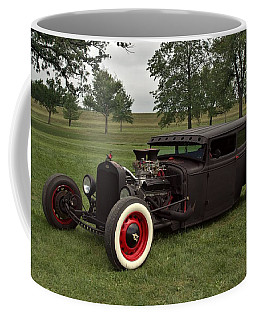1931 Ford Flat Top Sedan Rat Rod Coffee Mug