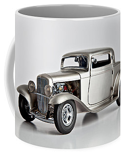 Coffee Mug featuring the photograph 1932 Ford 3 Window Coupe by Gianfranco Weiss
