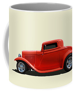 Coffee Mug featuring the photograph 1932 Ford 3 Window Coupe by Keith Hawley