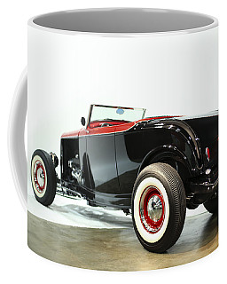 Coffee Mug featuring the photograph 1932 Ford Deuce Roadster by Gianfranco Weiss