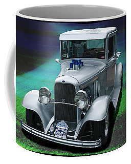 Coffee Mug featuring the digital art 1932 Ford Pickup by Richard Farrington