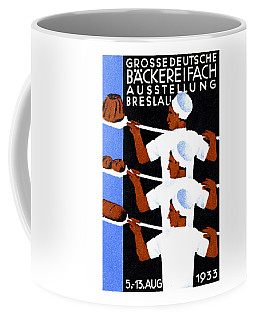 1933 Bakers Convention Poster Coffee Mug