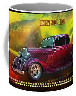1934 Ford 5 Window Gennie Coffee Mug