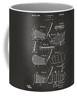 1936 Golf Club Patent Artwork - Gray Coffee Mug