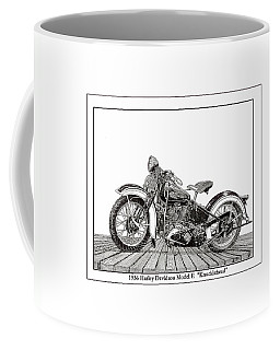 1936 Harley Knucklehead Coffee Mug