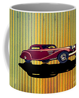 1936 Mercedes Benz Classic Car Coffee Mug