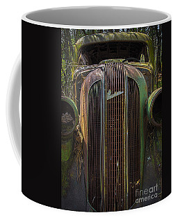 1936 Pontiac Head On Coffee Mug