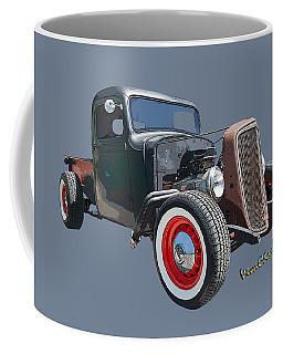 1936 Rat Rod Chevy Pickup Coffee Mug