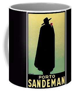 1938 - Porto Sandeman French Wines Advertisement Poster - Color Coffee Mug