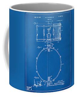 1939 Snare Drum Patent Blueprint Coffee Mug