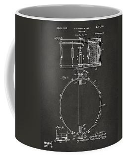 1939 Snare Drum Patent Gray Coffee Mug