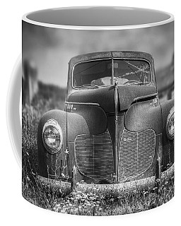 1940 Desoto Deluxe Black And White Coffee Mug