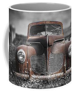 1940 Desoto Deluxe With Spot Color Coffee Mug