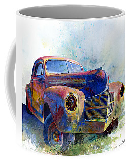 Coffee Mug featuring the painting 1940 Dodge by Andrew King