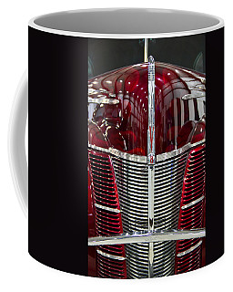 1940 Ford V8 Grill  Coffee Mug by Eti Reid