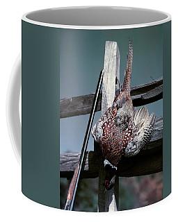 1940s 1950s Hunting Still Life Double Coffee Mug