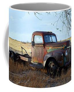 1940s Ford Farm Truck Coffee Mug