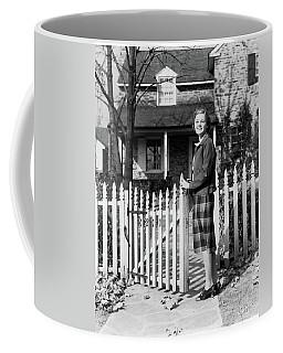 1940s Smiling Pretty Young Teenage Girl Coffee Mug