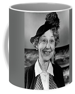 1940s Woman With Happy Expression Coffee Mug