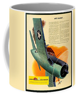 1943 - Nash Kelvinator Advertisement - Corsair - United States Navy - Color Coffee Mug