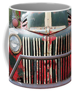 Coffee Mug featuring the photograph 1946 Vintage Ford Truck by Fiona Kennard