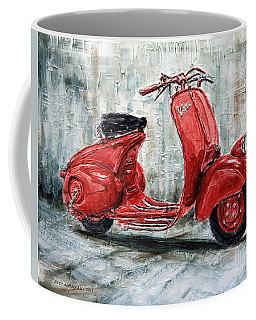1947 Vespa 98 Scooter Coffee Mug