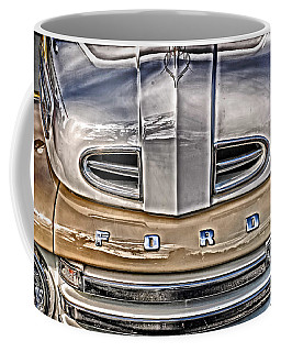 Coffee Mug featuring the digital art 1948 Ford Pickup by Richard Farrington