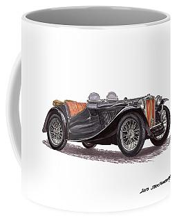 M G T C Coffee Mug by Jack Pumphrey