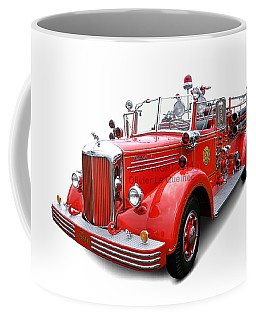 1949 Mack Fire Truck Coffee Mug