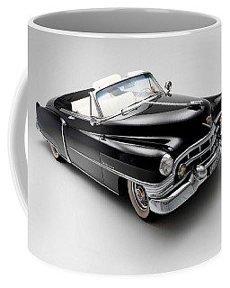 Coffee Mug featuring the photograph 1950 Cadillac Convertible by Gianfranco Weiss
