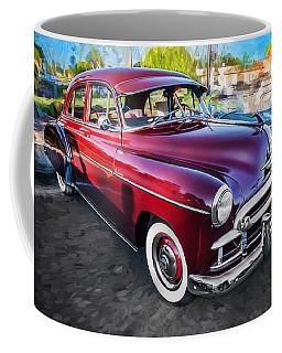 1950 Chevrolet Sedan Deluxe Painted  Coffee Mug