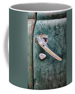 1950 Classic Chevy Pickup Door Handle Coffee Mug