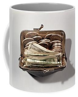1950s 1960s Change Purse Bulging Coffee Mug