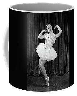 1950s Ballerina On Toes Coffee Mug