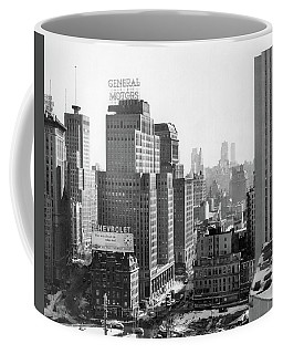 1950s Looking South At 61st Street Coffee Mug